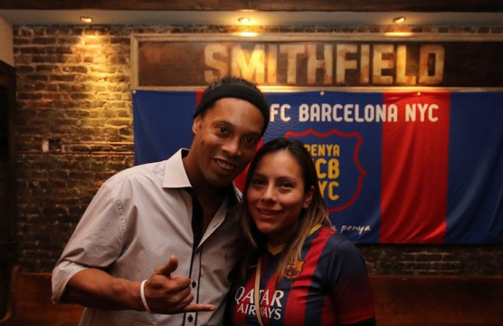 Ronaldinho at Smithfield Hall